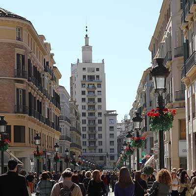 Que ver en la Calle Larios Malaga